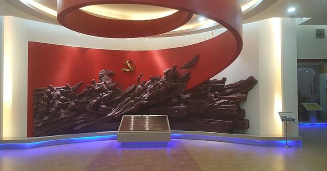 山东寒亭烈士纪念馆-浮雕